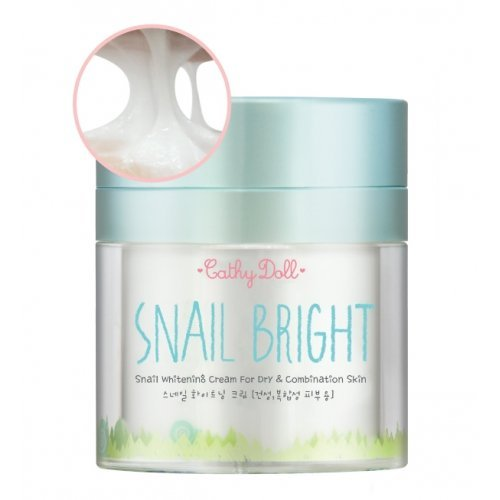 Snail Whitening Cream 50g Cathy Doll (For Dry & Combination Skin).