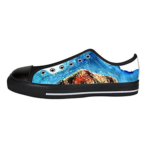 - Custom Mountains and Hills Womens Classic High Top Canvas Shoes Fashion Sneaker
