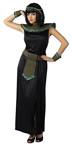 FunWorld Midnight Cleopatra, Black, One Size -