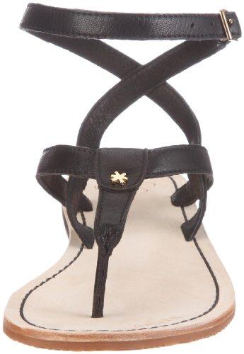 000 sling Schwarz Sandali 10117 Nero flop 2 flip Black donna lea qSxEvf8Rw