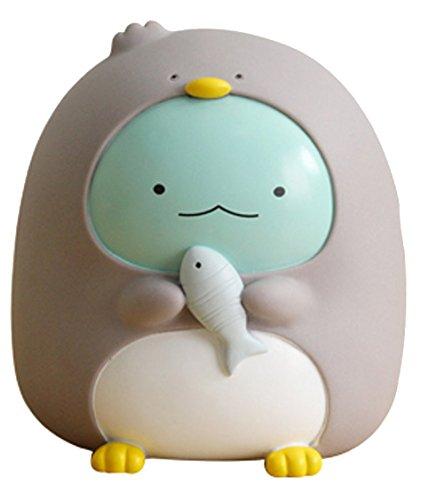Kid's Cute Animal Soft Plastic UNBreak Piggy Bank Money Box Toy,Home ()