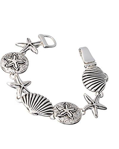 Starfish Shellfish Antique Magnetic Bracelet product image