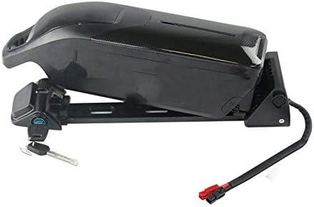 SHIJING Uso 48V 12AH Dolphin batería Samsung/NCR 18650 Cell E-Bici de la batería de 48V 11.6ah Li-Ion + 54.6V 2A Cargador