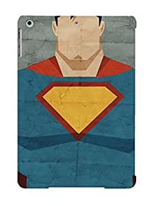 New Tpu Hard Case Premium Ipad Air Skin Case Cover(man Of Steel) For Christmas Gift
