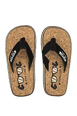 Cool shoe Original Infradito Uomini Nero//Camel Infradito