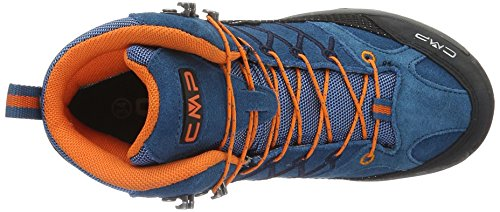 Adulte Blau Wp Randonnée Mixte Bleu denim Chaussures Hautes Cmp Mid De L580 Rigel vWHZ8xnRO