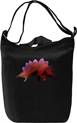 Colourful Dinosaur Borsa Giornaliera Canvas Canvas Day Bag| 100% Premium Cotton Canvas| DTG Printing|