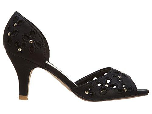 Air Balance Sandals Womens Black 4gCCS54
