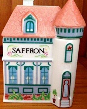 Lenox 'Spice Village' Porcelain Victorian House Spice Jar - Saffron