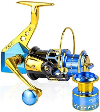 ZREELS 釣りリール、 フロントブレーキ 糸車 メタル ダブルラインカップ 左手/右手ユニバーサル (色 : 3000)