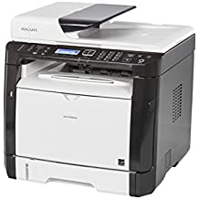 Ricoh 408155 SP 377SFNwX Fax/Copier/Printer/Scanner, Black/white