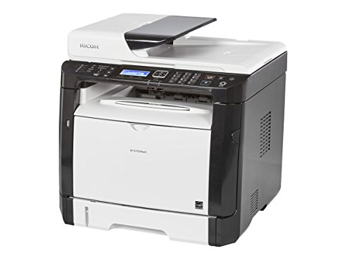 Ricoh 408155 SP 377SFNwX Fax/Copier/Printer/Scanner, Black/white by Ricoh