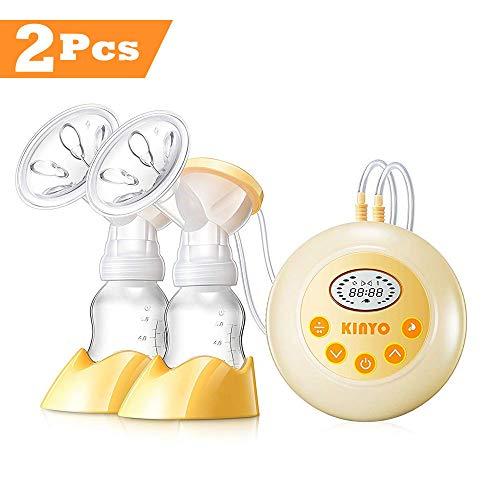 AnGeer Elektrische Milchpumpe, automatische Massage mit einstellbarer Saugkraft (Medium)