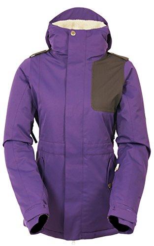 686 4Eva-After Snowboard Jacket Womens Sz M - 686 Snowboard