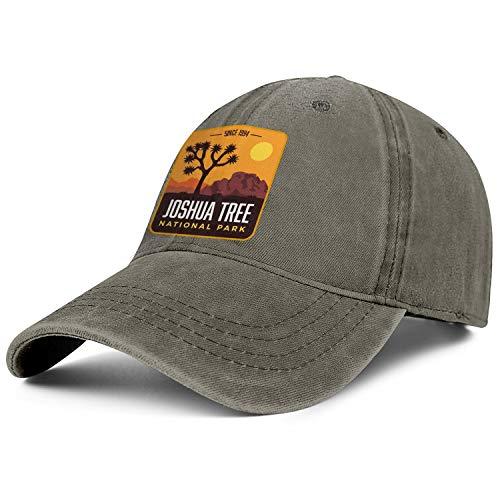 Unisex Men Adjustable Joshua Tree National Park Baseball Cap Plain Strap Hat