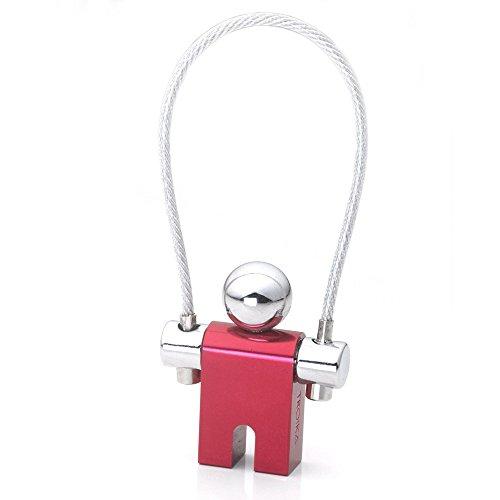 Troika Jumper Key Chain, Red (KYR71CR)
