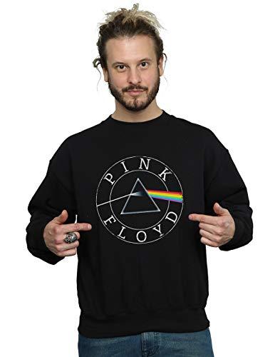 Entrenamiento Negro Camisa Hombre Circle Logo De Pink Floyd Prism xPfqw0WUz