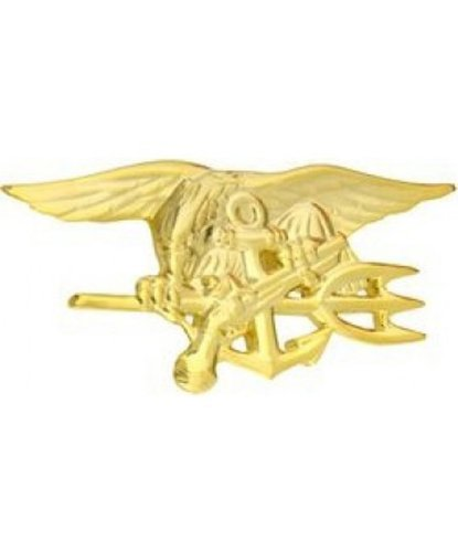 Us Navy Seal Gold Plated - 1