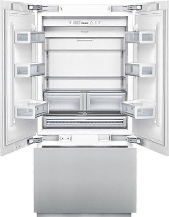 Elegant Thermador T36IT800NP: 36 Inch Built In French Door Bottom Freezer T36IT800NP