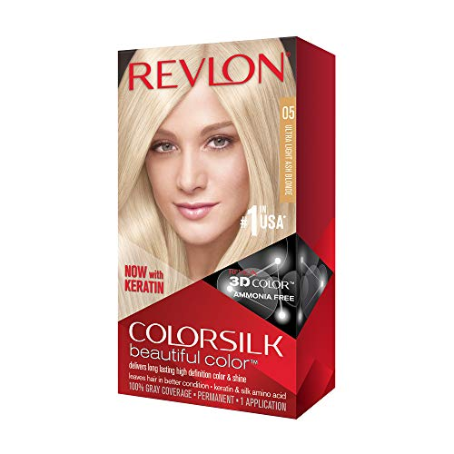 Revlon ColorSilk Beautiful Color, [05] Ultra Light Ash Blonde 1 ea