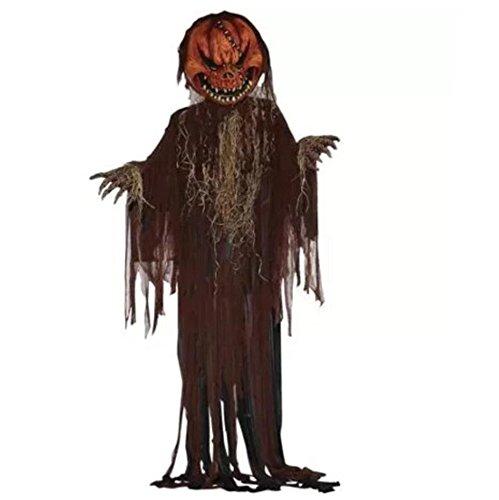 [12' Scary Pumpkin Halloween Prop FM68688 forum Novelties] (Best Halloween Props 2017)