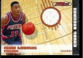 2006-07-Topps-Full-Court-Records-Jersey-190499-Isiah-Thomas-Detroit-Pistons-Basketball-Card-Mint-Condition-In-Protective-ScrewDown-Case