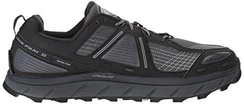 Altra Lone Peak 3.5 Mens Trail Hardloopschoen | Wandelen, Fastpacking, Trailraces | Zero-drop Platform, Voetvorm Teenkast, Steenbeschermingsplaat | Spring Op Het Pad Met Vertrouwen Zwart