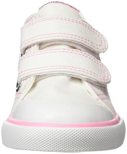 MTNG Unisex-Kinder Oli Sneakers Weiß (Vasi Weißglitter Mini Rosa)
