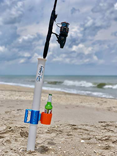 Surf Caddy PRO - Cup Holder | Sand Spike Carry System ()