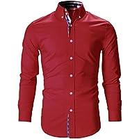 [Sponsored] FLATSEVEN Mens Slim Fit Stylish Tailored Dress Shirts
