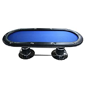 Ids professional solid wood poker table 10 for 10 player poker table top