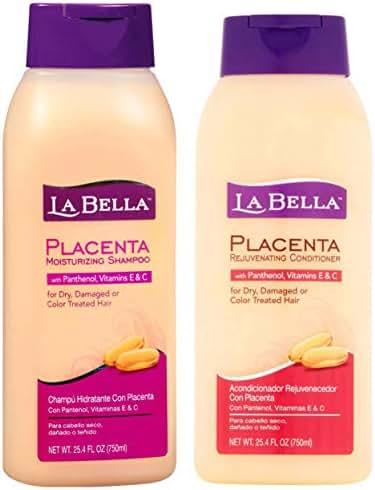 La Bella Placenta Shampoo 25.4oz & Conditioner 25.4oz Duo-Set