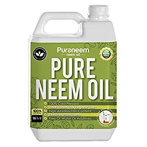 Pure PetraTools Neem Oil, Cold Pressed, Ultra High Azadirachtin Content, Essential Oil for Skin, Hair and Nails,Plant…