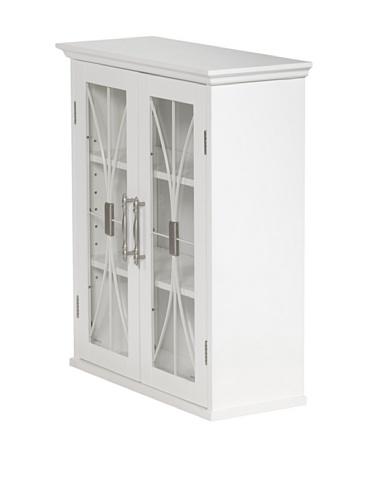 Delaney Wall Cabinet in White