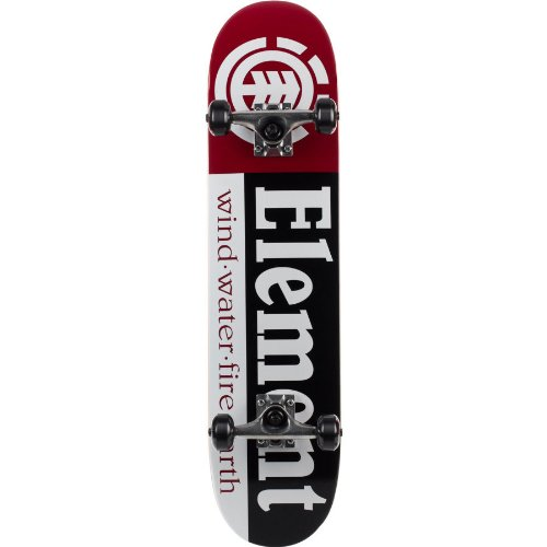 "Element Thriftwood Section Black Complete Skateboard - 7.5"" x 31.5"""