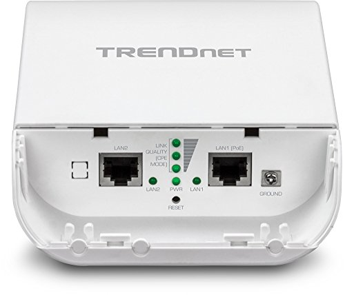 TRENDnet 10dBi Wireless N300 Outdoor PoE Access Point, Point-to-Point, Multiple SSID, AP, WDS, Client Bridge, WISP, IPX6 Rated Housing, TEW-740APBO by TRENDnet (Image #2)