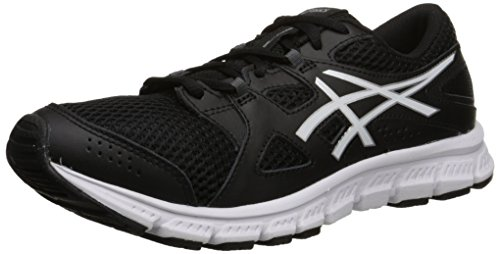 ASICS Women's Gel Unifire TR 2 Training Shoe, Black/White/Silver, 8 M US