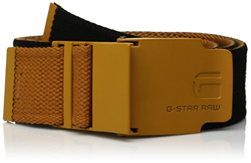 G-star Raw Accessories (G-star Raw Men's Zioks Webbing Belt, Dark Heat, 85)