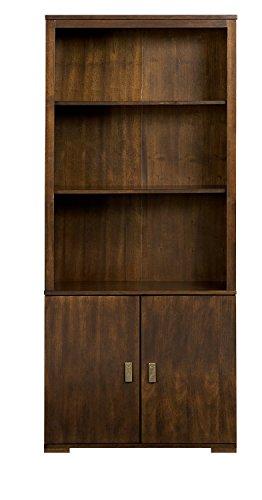 2 Door Mahogany Bookcase - 5