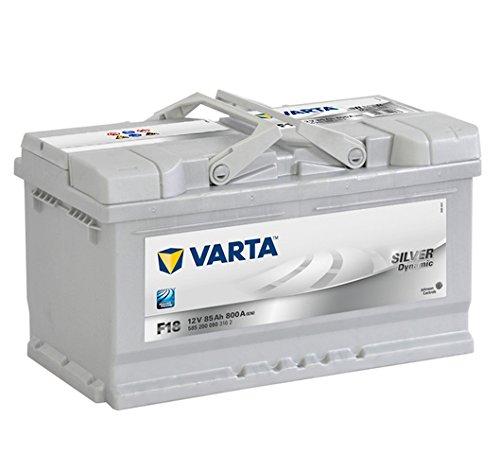 Varta F18 Batteria avviamento Silver Dynamic 5852000803162 12V 85Ah 800A
