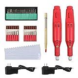 Engraver Pen Set, 2pcs Etcher+30 Bits+6 Polishing