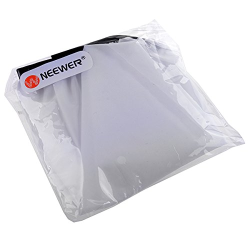 Neewer 2 Pack of Pure White Translucent Elasticated Diffuser Sock Screen Covers fit on 12