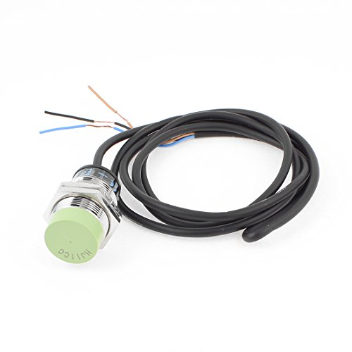 uxcell PR30-15DN DC 12V-24V 15mm Inductive Proximity Sensor Approach Switch