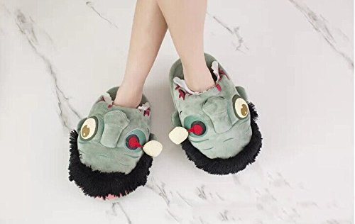 Zombie Slippers Halloween Plush Cotton House Slippers Shoes by Veribuy (Image #3)