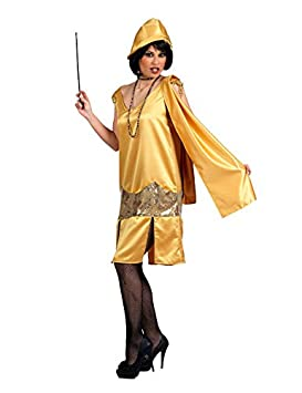 20 Charleston para mujer Disfraz Flapper Oro: Amazon.es: Juguetes ...