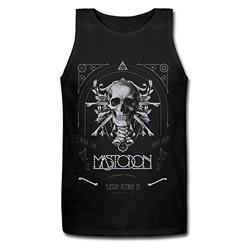 RORO Men's Mastodon Admat Slim Fit Tank Top Shirts Black Large (Photo Signed Large)
