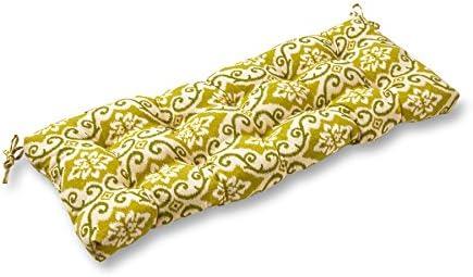 Greendale Home Fashions AZ4805-SHOREHAM Avocado 44-inch Outdoor Swing Bench Cushion