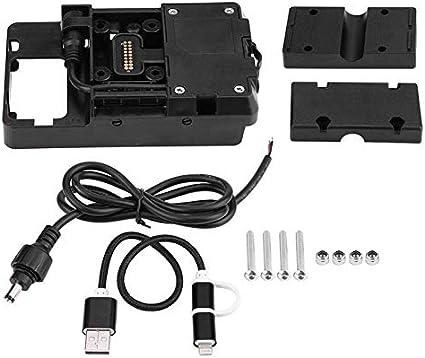 Soporte para teléfono para Motocicleta ,con Cargador USB para Motocicleta De BMW R1200GS LC y Aventura 2014-2017. (BM1200)