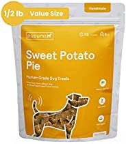 Pupums Healthy Sweet Potato Dog Treats | All Natural Dog Biscuits with 100% Human Grade and Non-GMO Ingredient