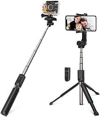Palo Selfie Trípode para Cámara, Gopro, iPhone, Android: Amazon.es ...